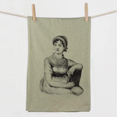 Jane Austen Flour Sack Towel Flour Sack Towel