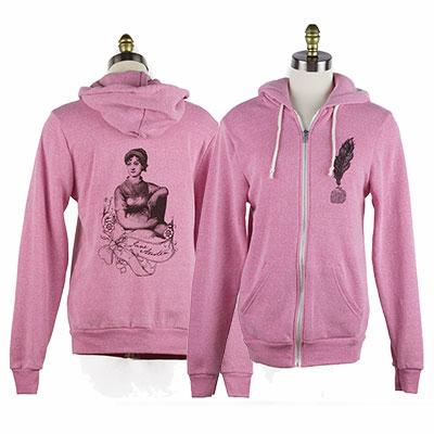 Jane Austen Rocky Eco-Fleece Hoodie