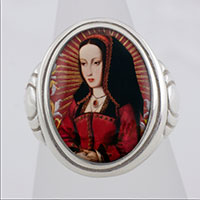Joanna of Castile Cameo Style Ring
