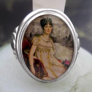 Josephine de Beauharnais Cameo Style Ring