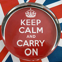 Keep Calm Carry On!