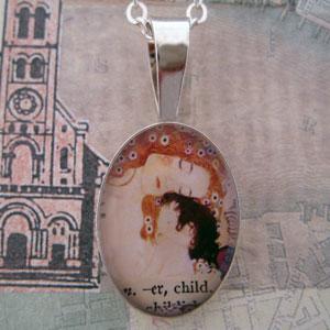 Klimt Mother and Child