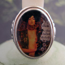 Klimt Judith Cameo Style Ring