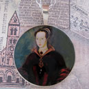 Lady Jane Grey Portrait Sterling Pendant