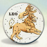 Constellation of Leo Zodiac Sign
