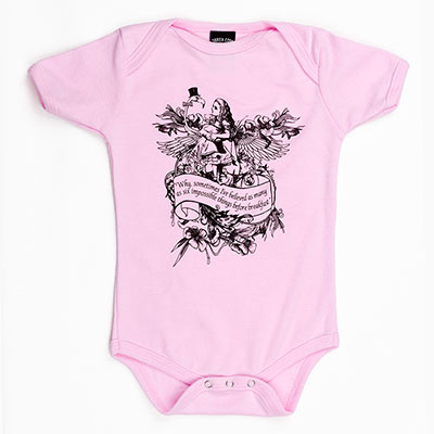 Alice Flamingo Organic Cotton one piece