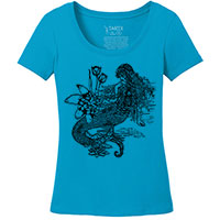 Mermaid La Luxure Perfect Weight Scoop Tee S-4XL