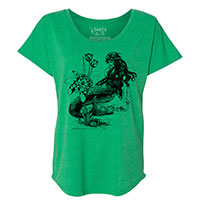 Mermaid La Luxure Tri-Blend Dolman T-Shirt