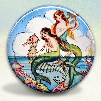 Mermaids and Seahorse