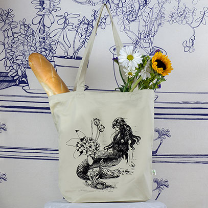Mermaid Tote Bag -TIMT
