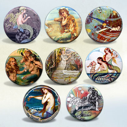 Enchanting Mermaids set