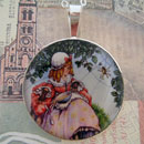 Little Miss Muffet Sterling Pendant