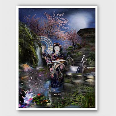 Mizuko In Her Octopus Garden