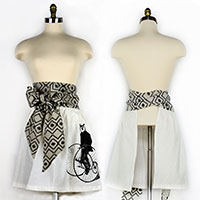 Gentleman Owl Skirt Apron