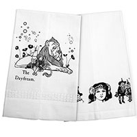 The Daydream Wizard of OzTea Towel