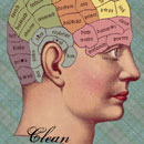 A Clean Mind . . . Phrenology Style