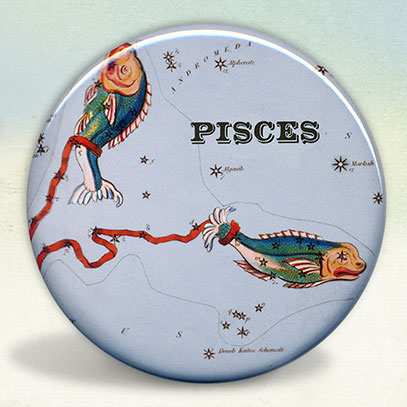 Constellation of Pisces Zodiac Sign