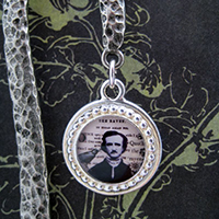 Edgar A. Poe and The Raven Bookmark
