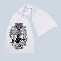 Viva Posada Screen printed Cotton Scarf