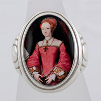 The Princess Elizabeth Tudor I Cameo Style Ring