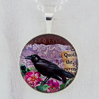The Raven Sterling Pendant