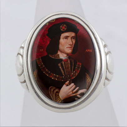 King Richard lll Cameo Style Ring