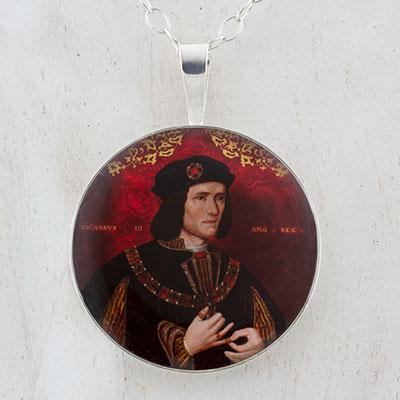 King Richard III Sterling Pendant