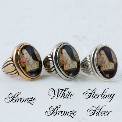 A Custom Sterling or Bronze Ring