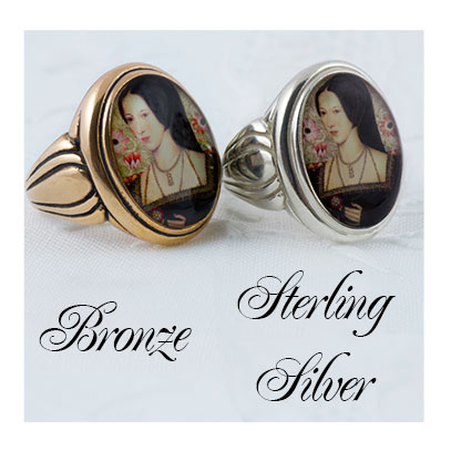 Choose your image Sterling and Bronze Ring Sale