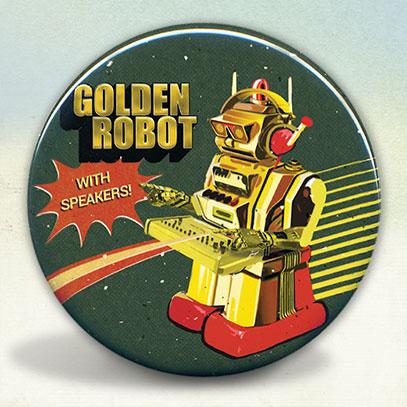 Golden Dj Robot