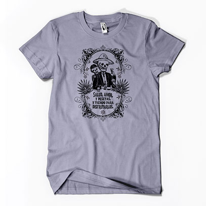 Calavera's Toasting Men's or Unisex T-shirt - TIMT