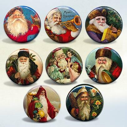 Santa Claus Vintage Art & Advertisements