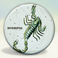 Constellation of Scorpio Zodiac Sign
