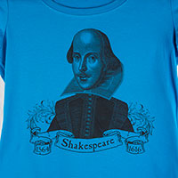 Shakespeare Perfect Weight Scoop Tee S-4XL