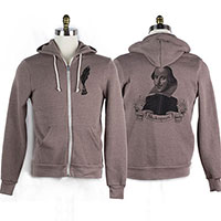 William Shakespeare Rocky Eco-Fleece Hoodie