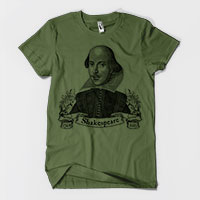 William Shakespeare Men's or Unisex T-shirt tartx