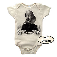 William Shakespeare Baby One Piece - TIMT