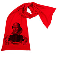 William Shakespeare Scarf