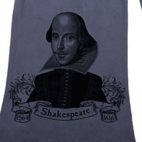 William Shakespeare Cold Night Quote Scarf
