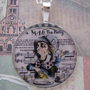Mad Hatter Sterling Pendant