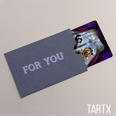 Tartx Physical Gift Card & E-Gift Card
