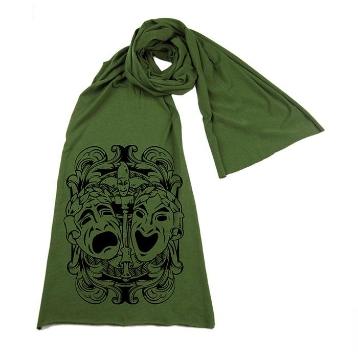 tragedy-comedy-green-scarf-sm.jpg