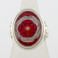 Tudor Rose Cameo Style Ring