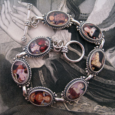 The Tudors King Henry VIII and his Six Wives Bracelet