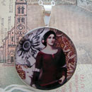 The Lady Clare Sterling Pendant