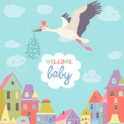 Welcome Baby E-Gift Card